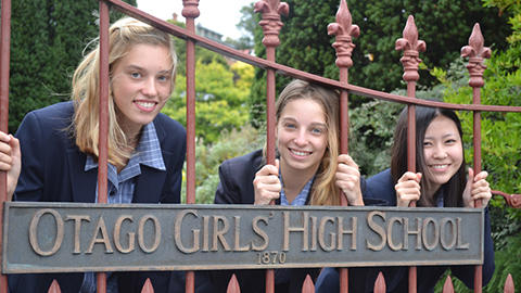 Otago Girls Students